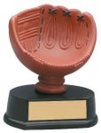 Softball Glove Resin Trophy Colored Resin Trophy Awards