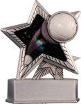 Volleyball - Silver Star Motion Series Resin Silver Star Motion Resin Trophy Awards
