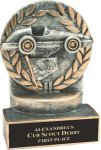 Wreath Resin Trophy -Racing  Wreath Resin Trophy Awards